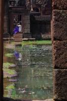 Cambodge, Banteay srei, temple