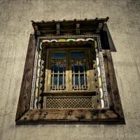 Tibetan window, Sangri-La, yunnan