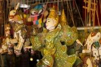 Cambodia, Siem Rep, marionnettes