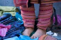 emmanuelle robert vietnam, pieds