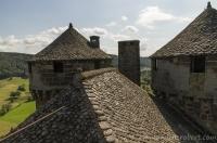 Anjony castle, Cantal, Auvergne