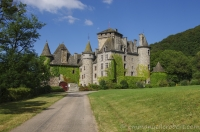Pesteils castle, Cantal, Auvergne