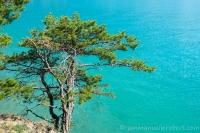 Lac Serre Ponçon , Hautes Alpes,